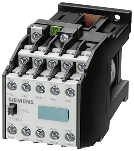 Contactor relay DC-operation
