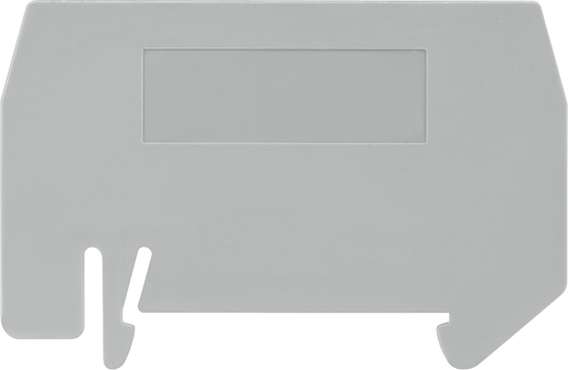 End plate for double-storey clamp