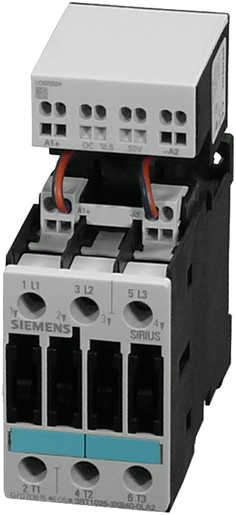 Power Contactor DC 110V, 3 pole 7, 5kW