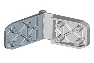 Top door hinge