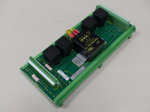Printed circuit board with relay