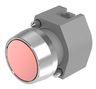 Pushbutton-actuator natural/red mom D29