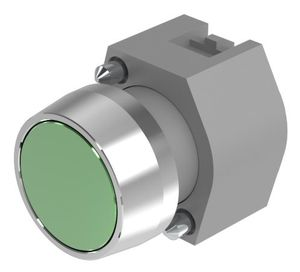 Pushbutton-actuator natural/green mom D29