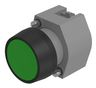 Pushbutton-actuator black/green mom D29