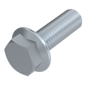 Ribbed head bolt hexagonal head, Strength class 100, M5x160