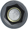IMPACT hexagon socket, 1/2 inch long, with spring-mounted magnet, Width across flats: 13 mm