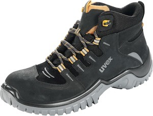 Lace-up boot, black/orange uvex motion sport, S2 41