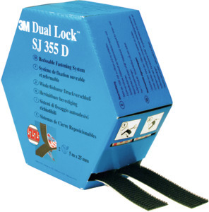 DUAL LOCK SJ355D dispenser box, Length: 10 m