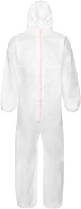 Protective overalls type 5/6 HOLEX, white, Size: XL