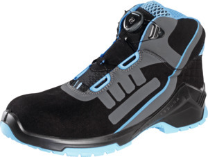 Lace-up boot, black/blue VD PRO 1800 ESD, S2 XB BOA, EU shoe size: 40