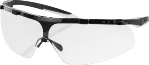 Comfort safety glasses uvex super fit, Lens tinting: CLEAR