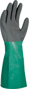Pair of chemical protection gloves AlphaTec 58-435, Glove size: 10