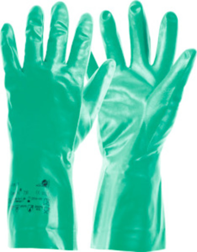 Pair of chemical protection gloves Camatril 730, Glove size: 11