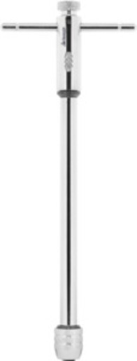 T-tap wrench with ratchet long, All-steel, Overall length: 300 mm