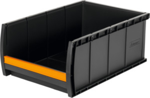 Open storage bin, anthracite, Type: BC2