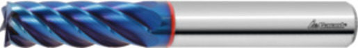 Diabolo solid carbide end mill HPC, TiAlN, ⌀ e8 DC: 16 mm