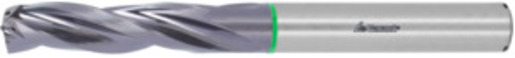 Master Steel FEED solid carbide drill, plain shank DIN 6535 HA, TiAlN, ⌀ h7: 7,8 mm or inch