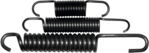 Set of spare springs 3 pieces