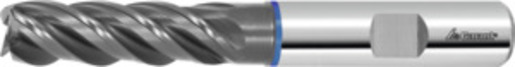 Master INOX solid carbide milling cutter HPC / TPC, TiAlN, ⌀ h10 DC: 20 mm
