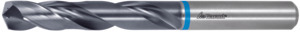 Solid carbide HPC drill plain shank DIN 6535 HA, TiAlN, ⌀ m6 (⌀ X = h7): 1,7 mm or inch