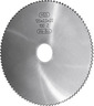 Metal circular saw blade fine, uncoated, ⌀xthickness: 40X0,6 mm