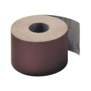 Abrasive cloth brown, roll 50 m x 50 mm, grain size 280
