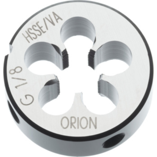 ORION threading die HSSE 1/8 in thread 28 30 mm A 24231