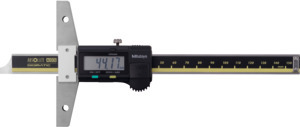 Digital depth gauge AOS with data output, Measuring range: 200 mm