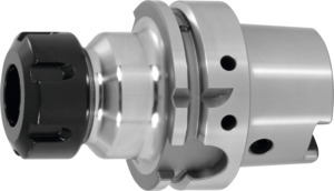 ER collet chuck, HSK-A 63 ultra short, for ER collets: 25 ER