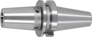 Shrink-fit chuck, Form ADB with cooling channel bore, BT 40 short, Clamping range ⌀ D1: 6 mm