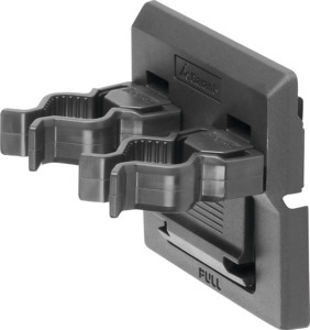 Double tool clip, Clamp ⌀: 20/20 mm