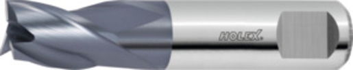Solid carbide mini slot drill, TiAlN, ⌀ h10 DC: 7 mm