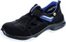 Sandals, black AL 711 PLUS ESD, S1 NB, EU shoe size: 37